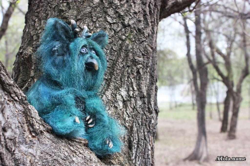 (07.05.2017 © ATola) Хранитель нефритового Дракона - игрушка для конкурса #монстерия