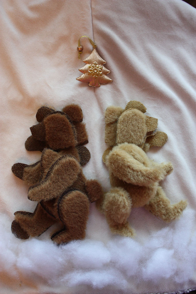 (25.01.2018 handmade, toys) Мишка Ёлка - По мастер-классу Виктории Макаровой