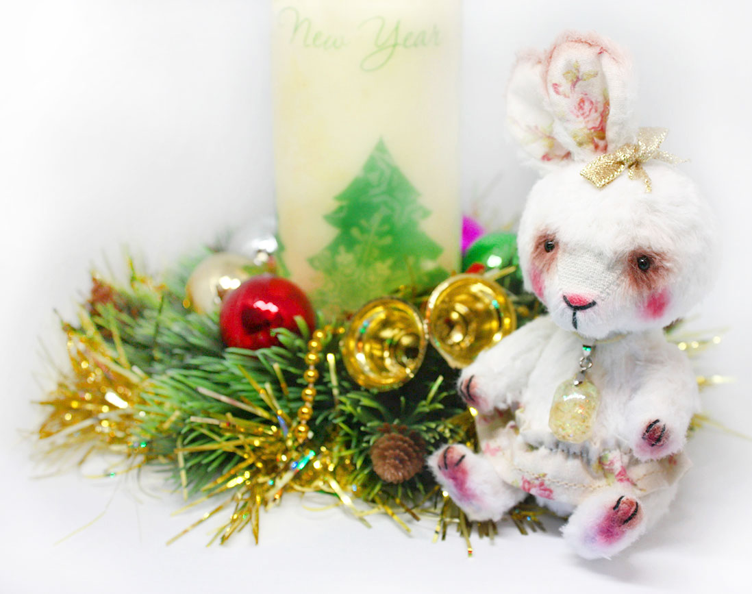 (21.12.2018 toys, dollhouse) С наступающим Новым Годом! - От милого зайки