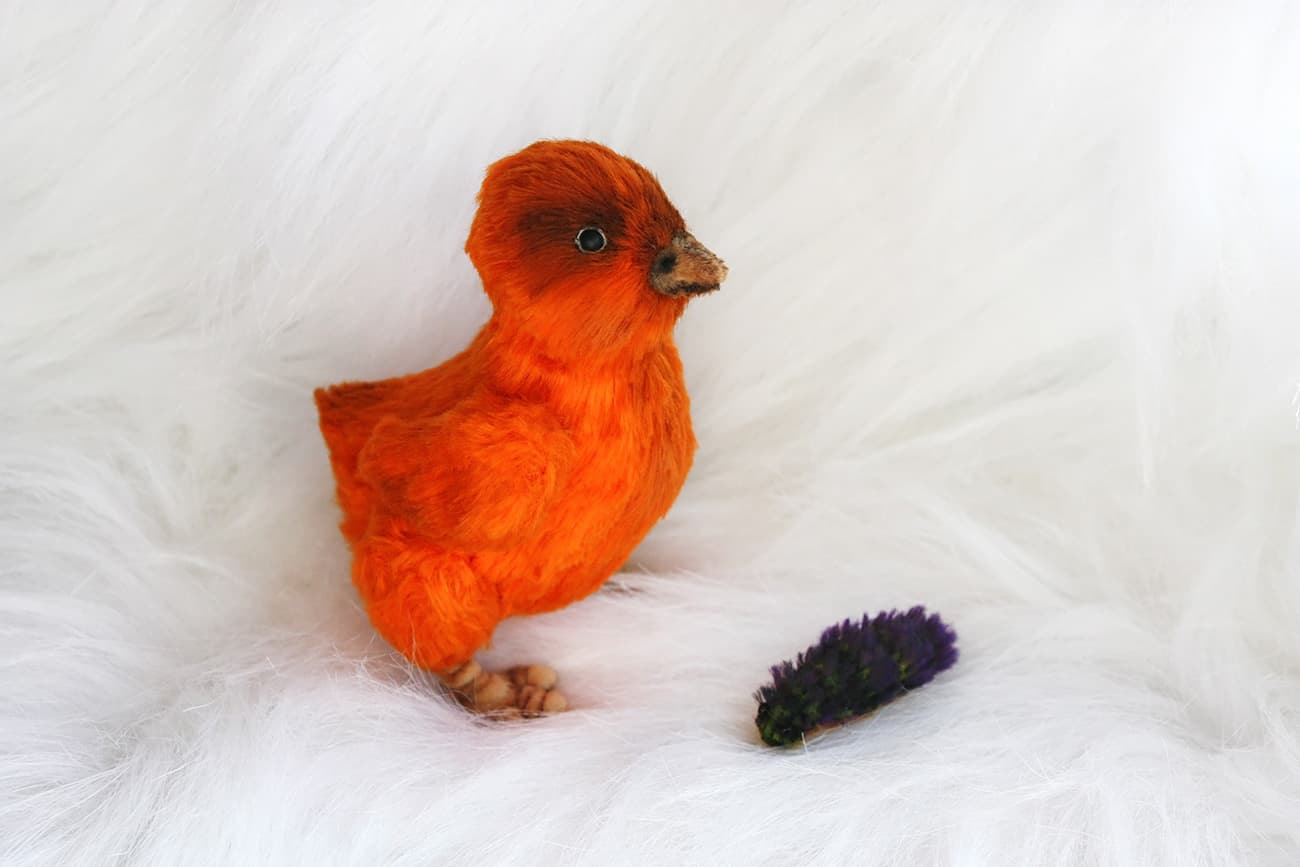 (15.04.2020 handmade, toys) Цыпленок и гусеница