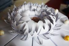 (16.03.2014 © ATola) Тортик - Из бумаги и конфет