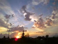 (07.09.2014 © ATola) Закат над Монастыркой - Каменск-Уральский