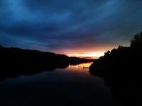 (27.08.2015 © ATola) Потрясающие закаты - Монастырка, Каменск-Уральский, река Исеть