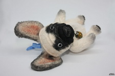 (17.08.2018 handmade, toys) Бульдожка - Совместный пошив с Мариной Филатовой