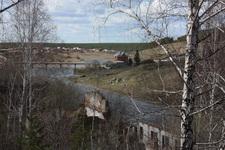 (06.05.2013 © ATola) Окрестности Ревуна - Развалины целлюлозного завода